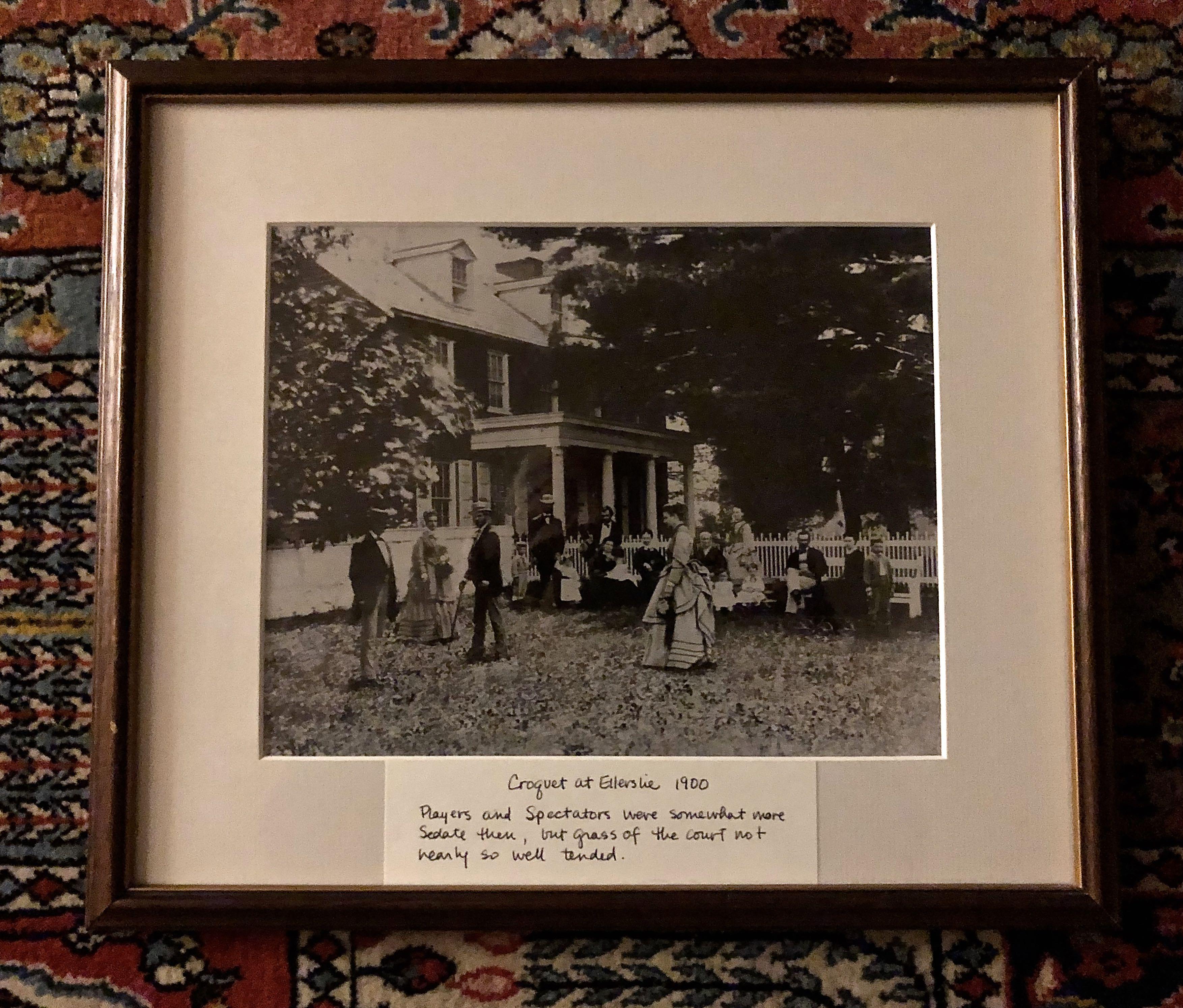 Croquet at Ellerslie 1900