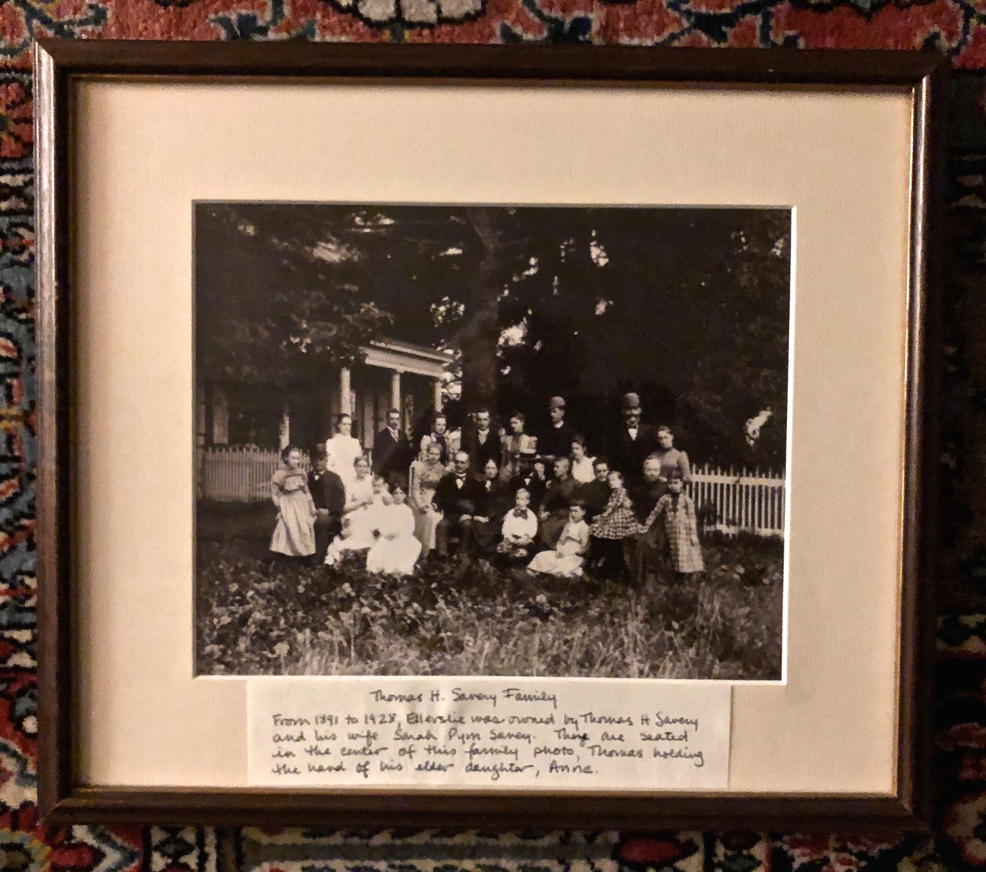 Thomas H Savery Family